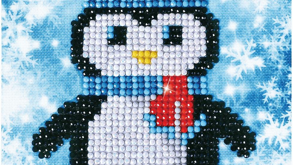 Diamond Dotz Christmas Penguin