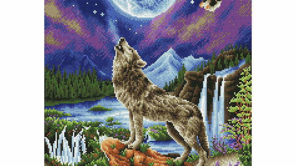 Diamond Dotz Mystic Wolf
