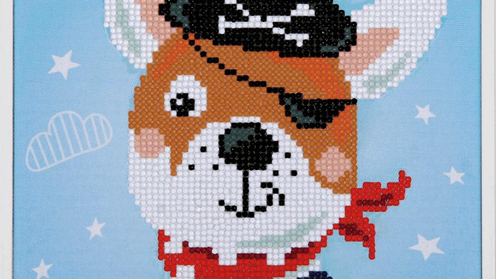 Vervaco: Diamond Painting: Pirate Dog