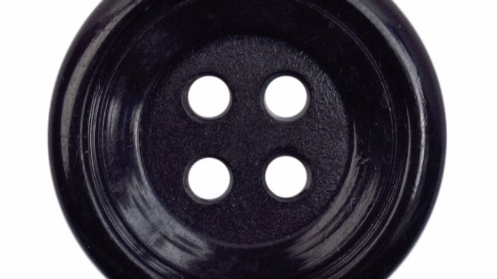 4 Hole Black Buttons