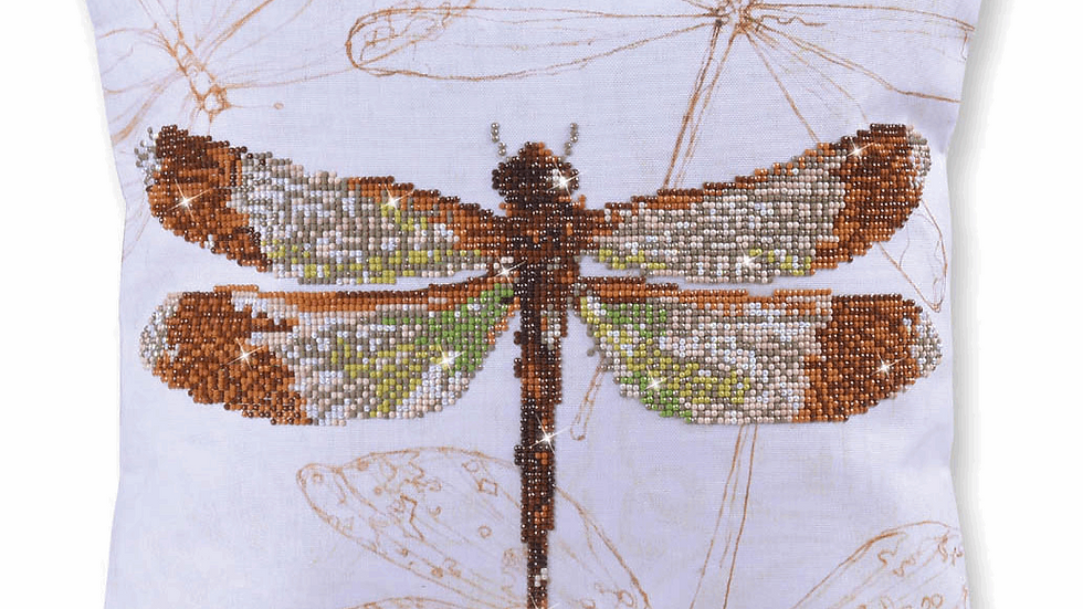 Diamond Dotz Cushion Dragonfly Earth