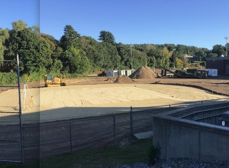 New Field construction is underway!
