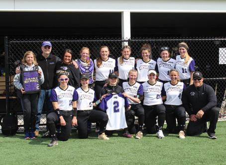 St. Mike's Purple Knights honor Meghan