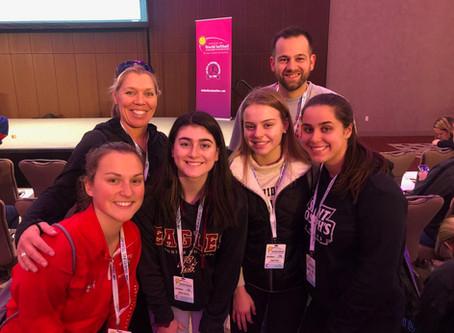 WMHS Team at World Softball Coaches Convention