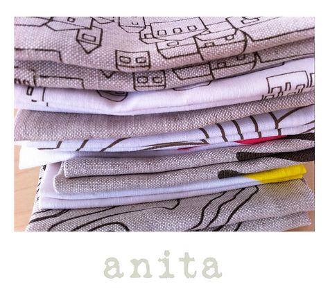 Linen napkins Anita
