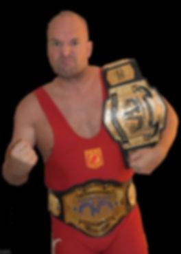 Copy of Wrestling Challenge Blue Poster