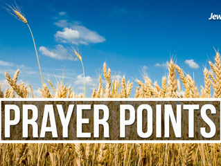 Points of Prayer April 3rd