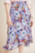 Anthropologie Sybil Wrap Skirt