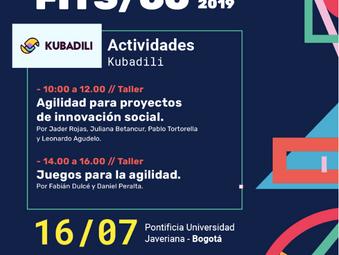 Se vienen dos talleres de Kubadili en Bogotá