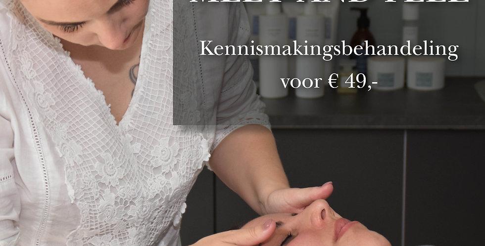 Meet & Feel-kennismakingsactie € 49,-