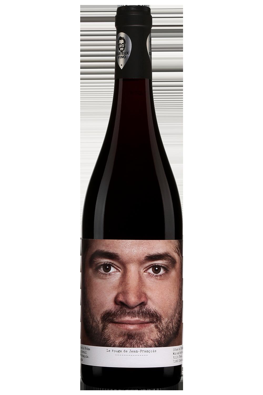 Curieux Vino Côtes-du-Rhône Le Rouge de Jean-François 2018