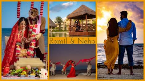 Nachdi Phira | Romil & Neha | Wedding | Moon Palace Cancun Mexico