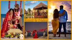 Nachdi Phira   Romil & Neha   Wedding   Moon Palace Cancun Mexico