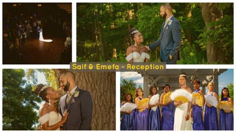 Saif & Emefa | Reception