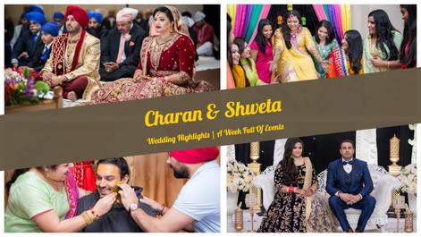 Mix Song Medley | Charan & Shweta | Wedding Highlights