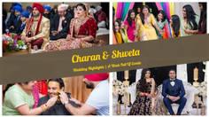 Mix Song Medley   Charan & Shweta   Wedding Highlights