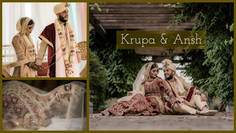 Indian Summer | Krupa & Ansh | Wedding Highlights