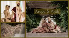 Indian Summer   Krupa & Ansh   Wedding Highlights