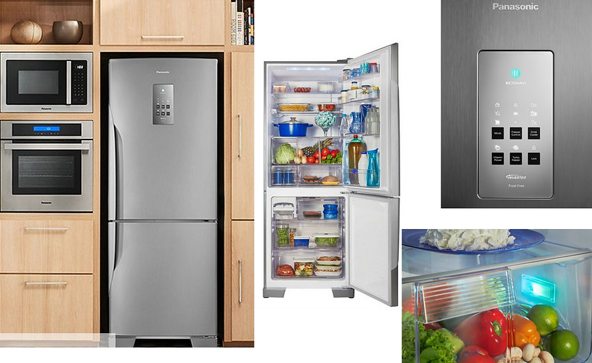 Refrigerador Panasonic Nr-bb53 425 L Inv