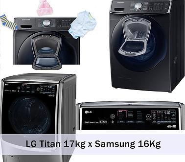 Lava e Seca Samsung 16 kg e lava e seca