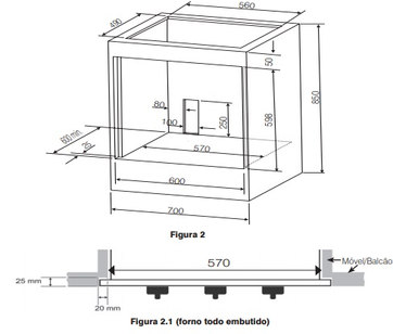 forno-de-embutir electrolux 80 litros 2.