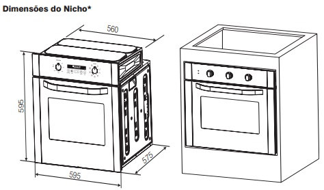 forno-de-embutir electrolux 80 litros 1.