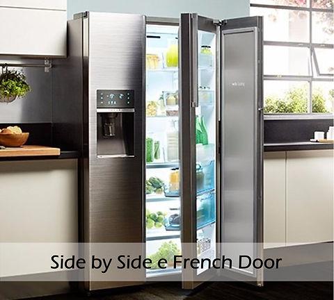 Melhores geladeiras Side by Side e Frenc