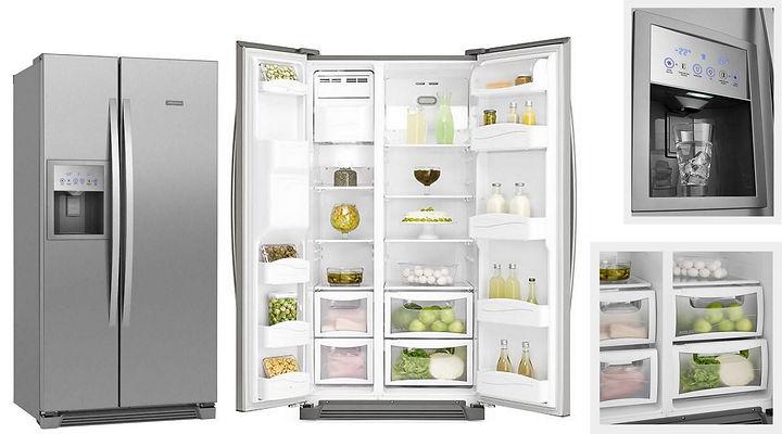 Refrigerador Electrolux Side Inverse SS7