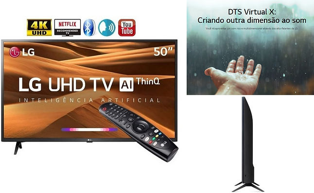 Smart TV Led 50'' LG 50UM7360 Ultra HD 4
