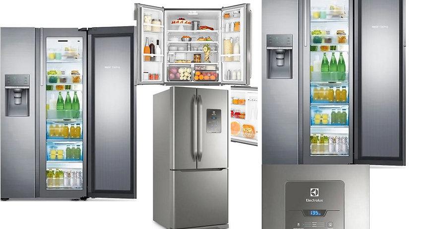 melhores geladeiras side by side e inver