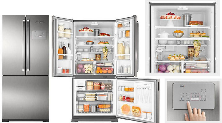 Refrigerador Brastemp Frost Free Side by
