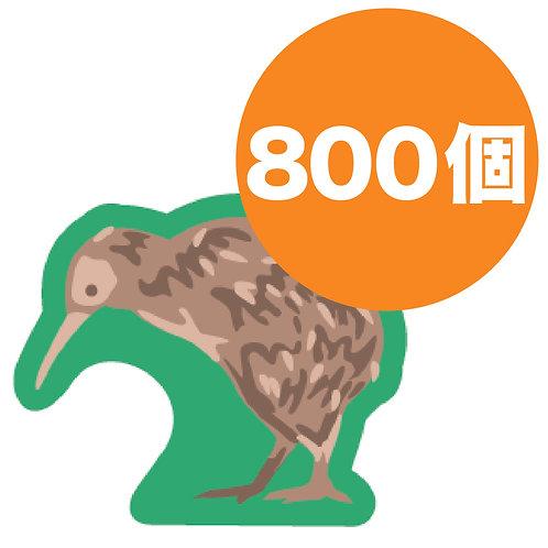 オリジナルプリント木駒800個