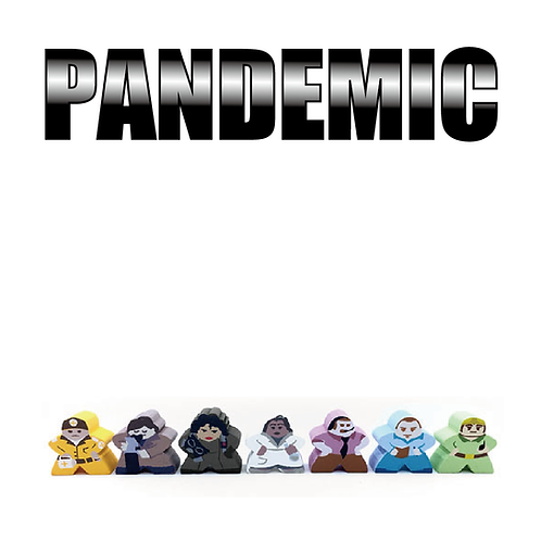 パンデミック キャラクターアップグレード