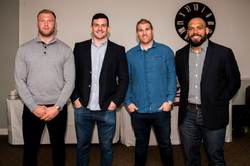Aitch and Aitch Bee Richard Hibbard, Ross Moriarty, John Afoa, Matt Scott (10)