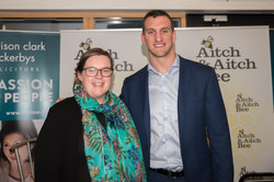 Aitch and Aitch Bee Sam Warburton Monmou