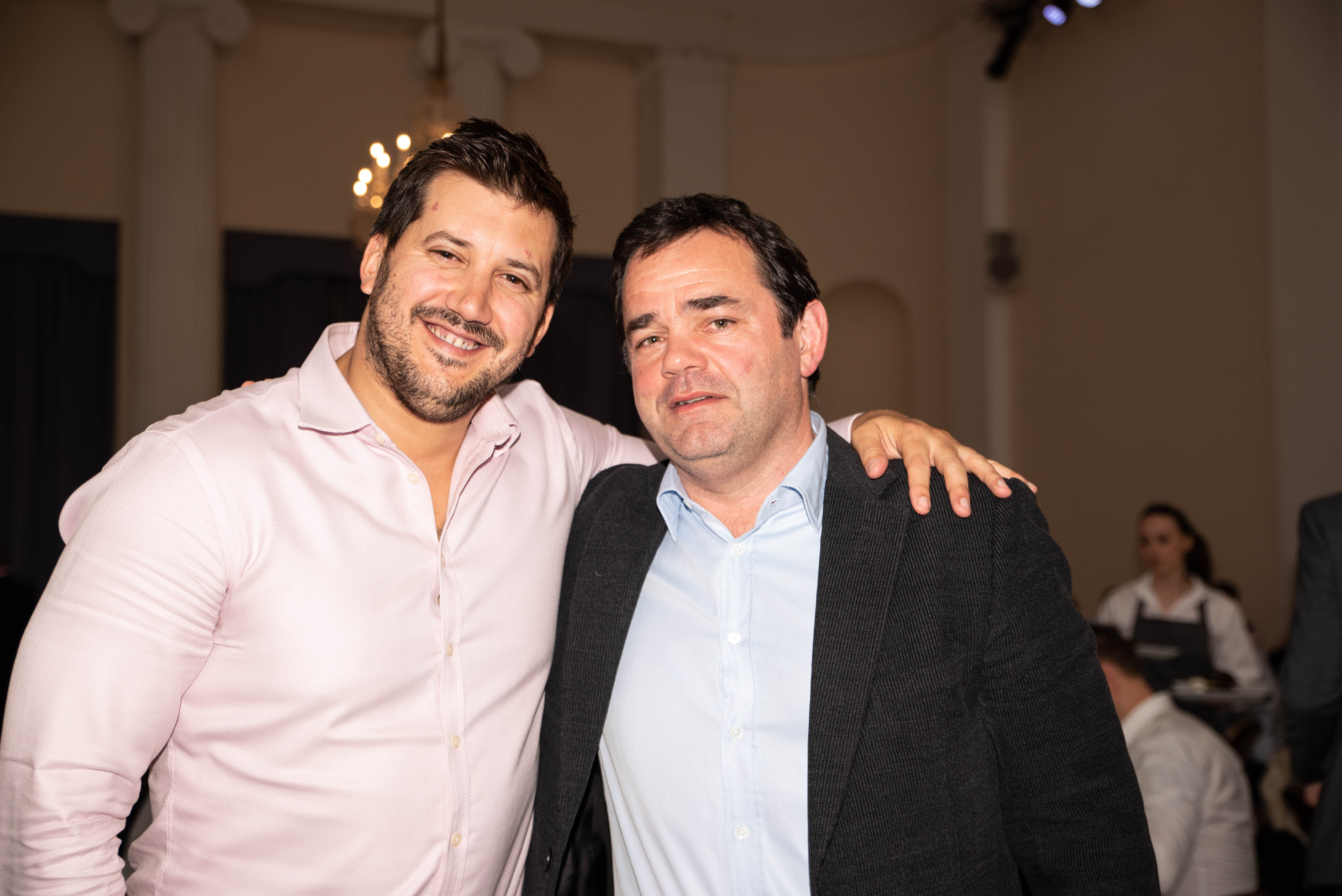 Aitch and Aitch Bee Will Carling OBE Rob