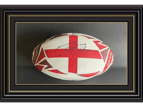 Martin Johnson CBE Signed Rubgy World Cup Ball