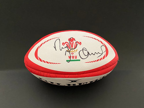 Nigel Owens MBE Signed Wales Rugby Ball