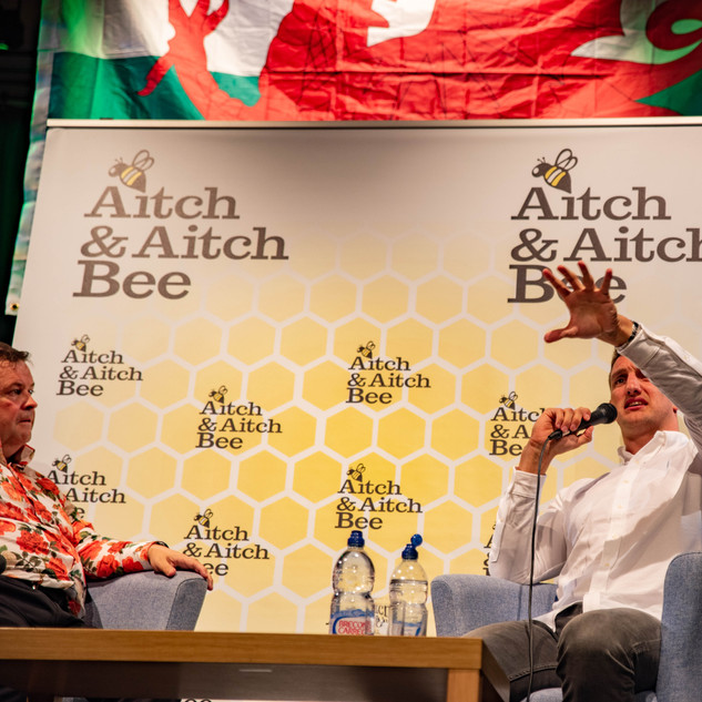 Aitch and Aitch Bee Sam Warburton OBE 42