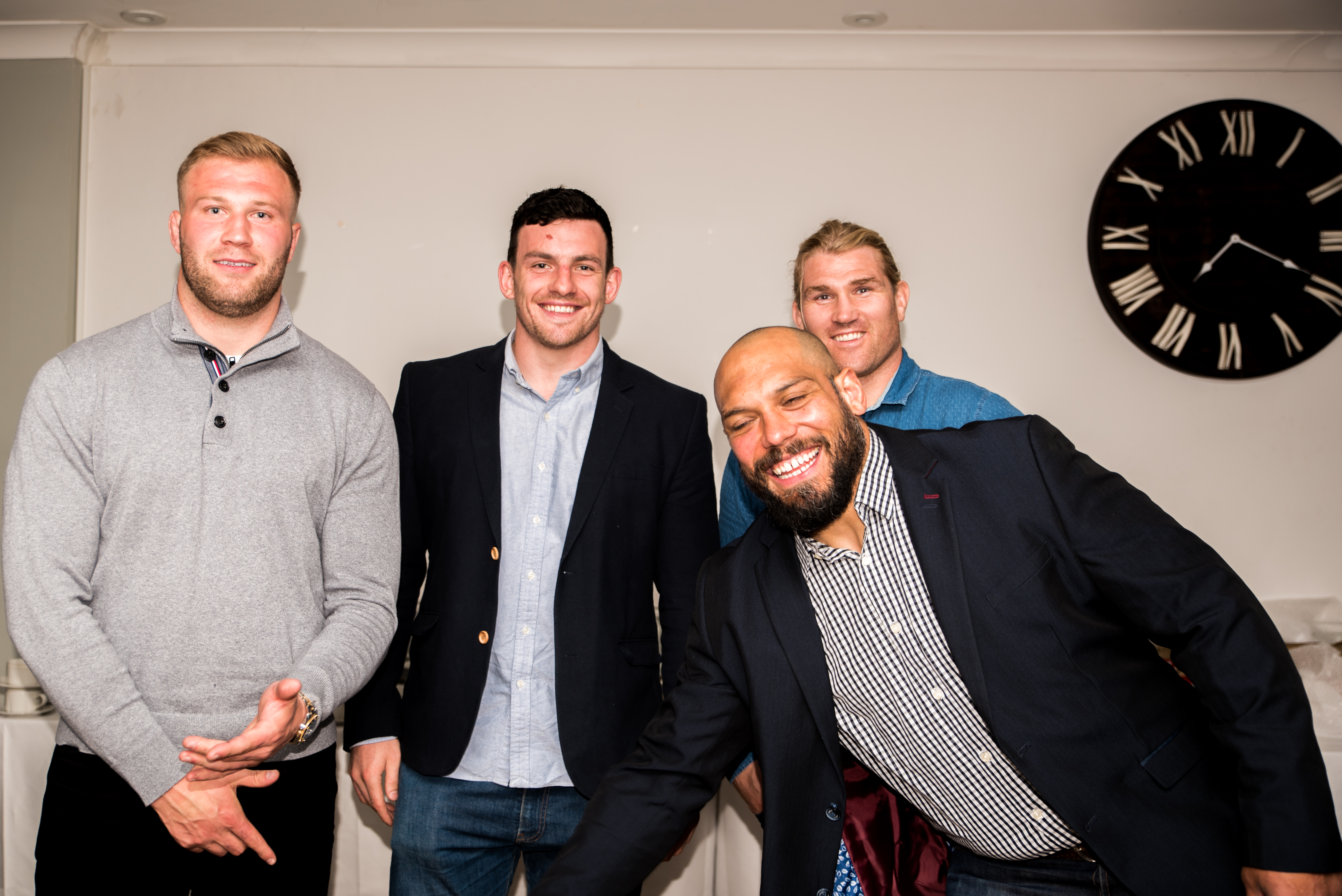 Aitch and Aitch Bee Richard Hibbard, Ross Moriarty, John Afoa, Matt Scott (12)