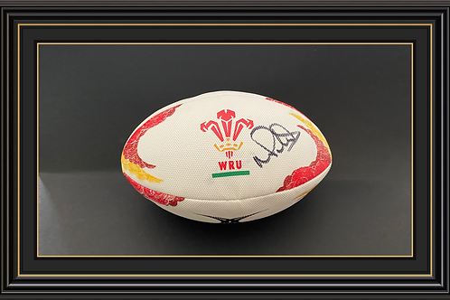 Mike Phillips Signed Wales Rugby Ball