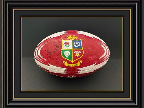 Sam Warburton Signed Rugby Ball