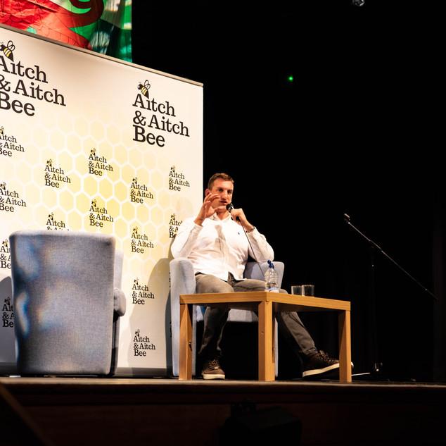 Aitch and Aitch Bee Sam Warburton OBE 67