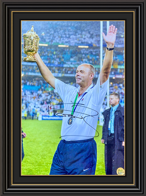 Sir Clive Woodward CBE Signed Print