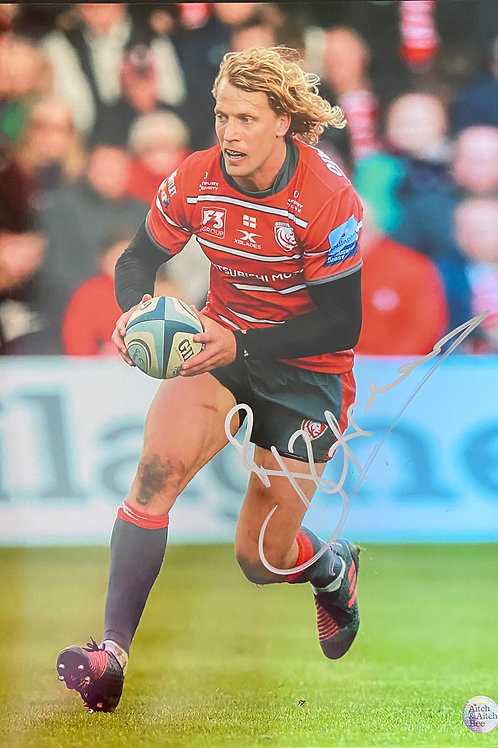 Billy Twelvetrees Signed Print