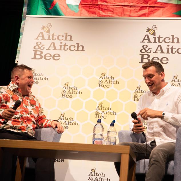 Aitch and Aitch Bee Sam Warburton OBE 53