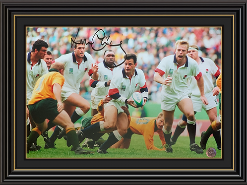 Will Carling OBE Signed Print