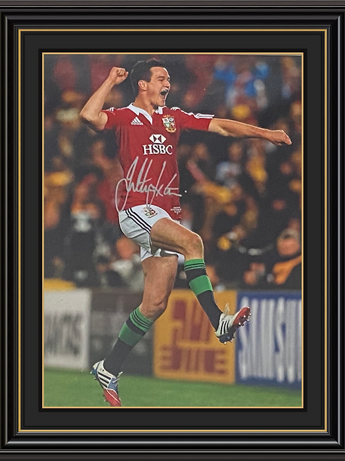 Johnny Sexton Signed and Framed Print
