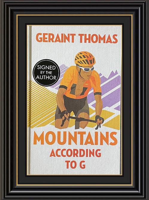 Geraint Thomas OBE MBE  Signed Copy Hardback Book