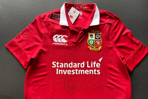 Sam Warburton Signed 2017 Lions Shirt